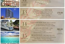 Partagas Festival Timetable