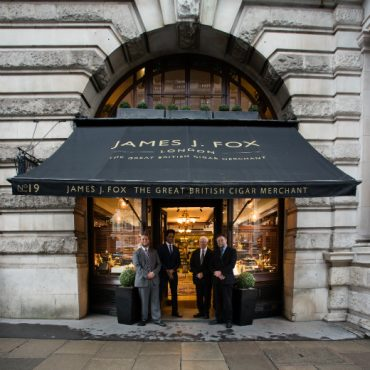Where to Smoke in London JJ Fox