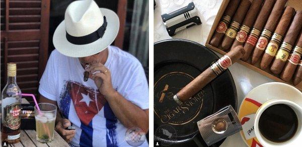The Cigar Smoker Montefortuna Cigars