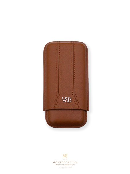 VSB Brown Leather Case